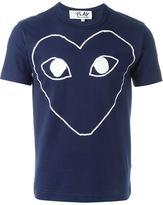 Comme des Garcons heart print T-shirt - men - Cotton - M