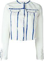 Aviu panelled jacket