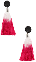 Shashi Ariana Tassel Statement Earrings