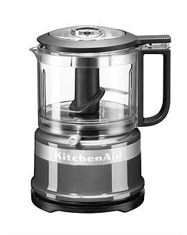 KitchenAid Kfc3516 3.5 Cup Mini Food Chopper - Contour Silver