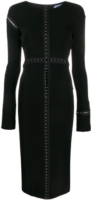 Thierry Mugler Longsleeved Midi Dress