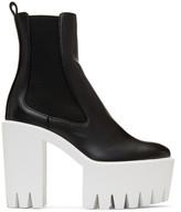 Stella McCartney Black Monster Boots