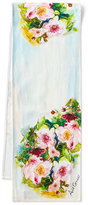 "April Cornell Peony Table Runner, 72""L"