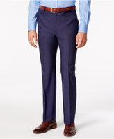 Lauren Ralph Lauren Men's Medium Blue Solid Classic-Fit Pants