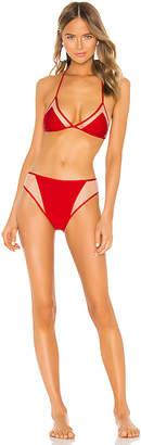 Adriana Degreas x Cult Gaia Hot Pants Triangle Bikini Set