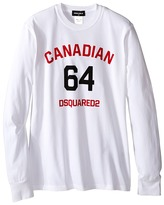 DSQUARED2 Long Sleeve Canadian Tee Boy's T Shirt