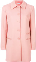 RED Valentino classic single breasted coat - women - Polyester/Spandex/Elastane/Acetate/Viscose - 40