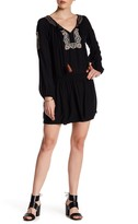 Sanctuary Freya Embroidered Long Sleeve Dress