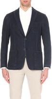Corneliani tailored-fit denim jacket