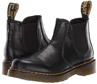 Dr. Martens Kid's Collection 2976 (Little Kid/Big Kid) (Black) Girl's Shoes