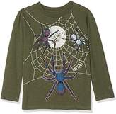 Fat Face Boy's Halloween Spider T-Shirt