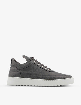 Filling Pieces Low Top Ripple leather trainers