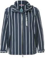 GUILD PRIME striped lightweight jacket