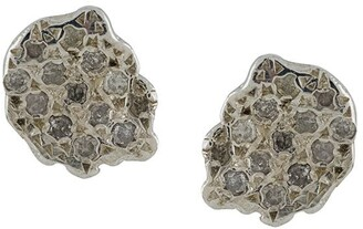 Rosa Maria Diamond Embellished Earrings