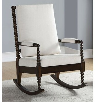 Darby Home Co Davey Rocking Chair Darby Home Co Color: Walnut