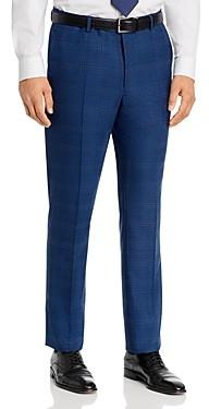 John Varvatos Street Tonal Plaid Slim Fit Suit Pants