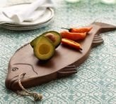 Pottery Barn Carved Fish Cutting Board