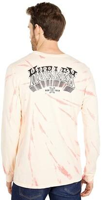 Hurley Surf Trip Tie-Dye Long Sleeve (Multicolor) Men's Clothing