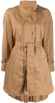 Twin-Set Twin Set tie waist rain coat