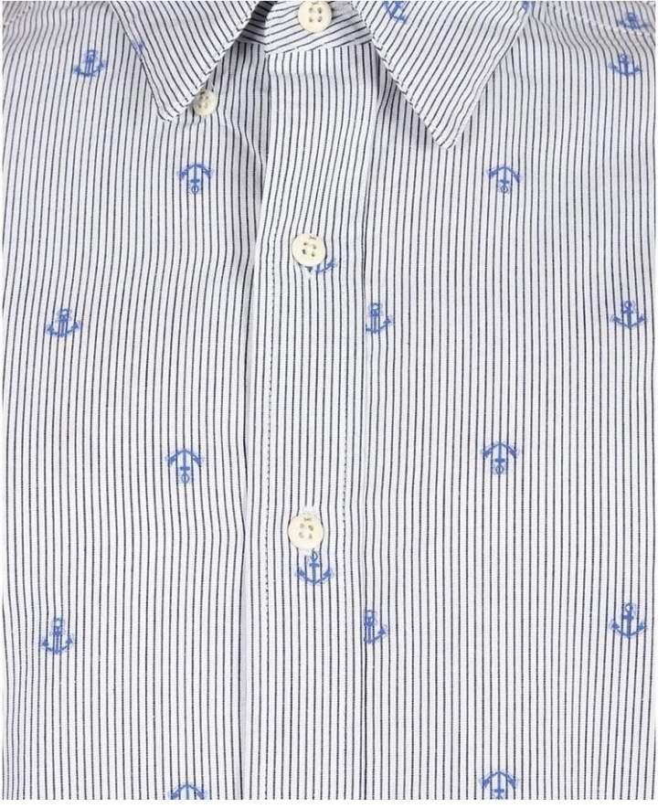 Denham Jeans Anchor Stripe Shirt