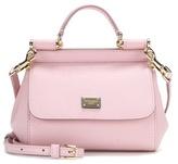 Dolce & Gabbana Sicily Micro Leather Shoulder Bag