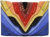 Elena Ghisellini Swarovski Crystals Felina Rainbow Bag