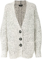 Isabel Marant chunky knitted cardigan - women - Wool/Alpaca/Polyester - 38