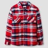 Cat & Jack Boys' Plaid Button Down Shirt