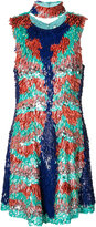 Christian Siriano sequin embellished dress - women - Silk/Sequin - 6