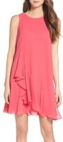 Eliza J Petite Women's Asymmetrical Swing Dress