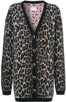 Magda Butrym Leopard Print Cardigan