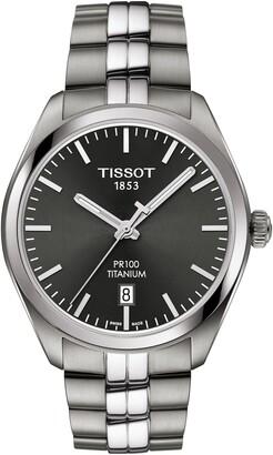 Tissot PR100 Titanium Bracelet Watch, 39mm