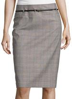 Liz Claiborne Belted Pencil Skirt