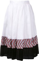 Jupe By Jackie panelled midi skirt
