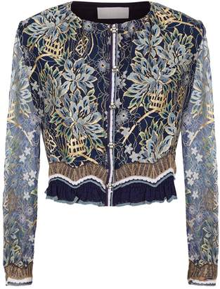 Peter Pilotto Lace Detail Cardigan