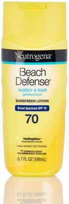 Neutrogena Beach Defense Water + Sun Protection SPF 70 Sunscreen Lotion