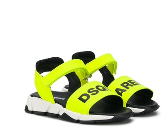 DSQUARED2 Logo-Print Sandals