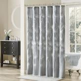 Madison Park Gwyneth Embroidered Shower Curtain - Gray