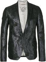 Rochas classic blazer - men - Polyester/Viscose/Metallized Polyester - 46