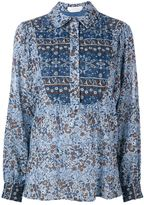 See by Chloe Boho Floral print shirt - women - Cotton - 40