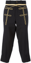 Ports 1961 embroidered tapered trousers - men - Cotton/Viscose - 48
