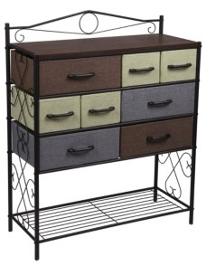 Household Essentials 8-Drawer Victorian Chest