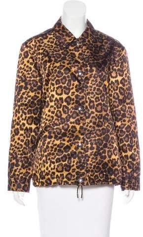 Alexander Wang 2017 Leopard Print Jacket