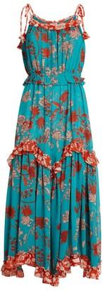 MISA Nati Paisley Print Dress