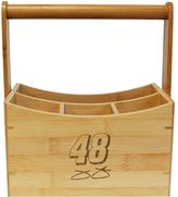 NASCAR Jimmie Johnson Bamboo Utensil Caddy