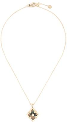 Buccellati 'Opera Color' unakite yellow gold necklace Limited edition