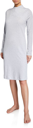 Hanro Luana Long-Sleeve Short Nightgown