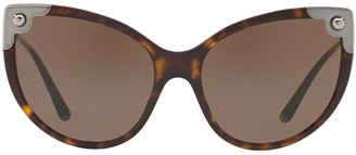 Dolce & Gabbana Eyewear Cat Eye Frame Sunglasses