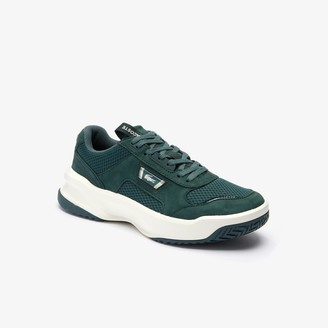 Lacoste Men's Ace Lift Bicolour Leather Trainers