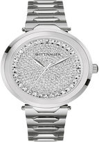 Wittnauer Womens Crystal-Accent Stainless Steel Bracelet Watch WN4026